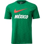 Nike Men's Mexico Dri-FIT QS Slub T-shirt - view number 1