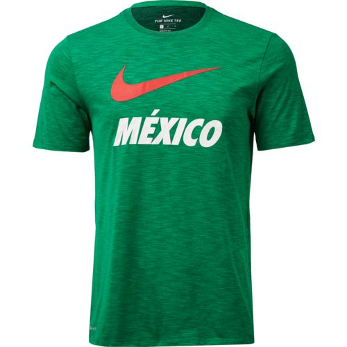 Nike Men's Mexico Dri-FIT QS Slub T-shirt