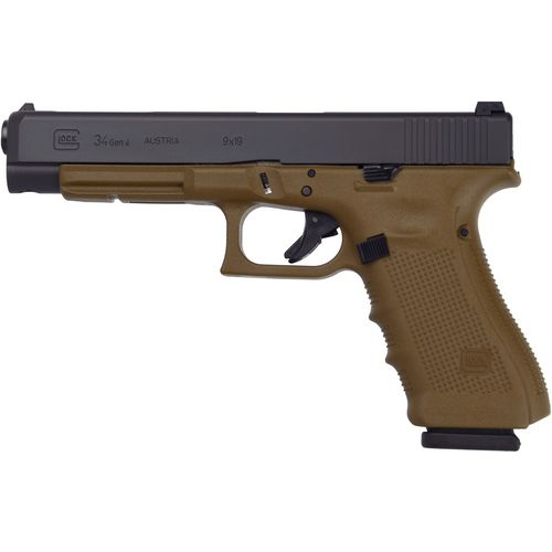 GLOCK G34 G4 FDE 9mm Semiautomatic Pistol - view number 1