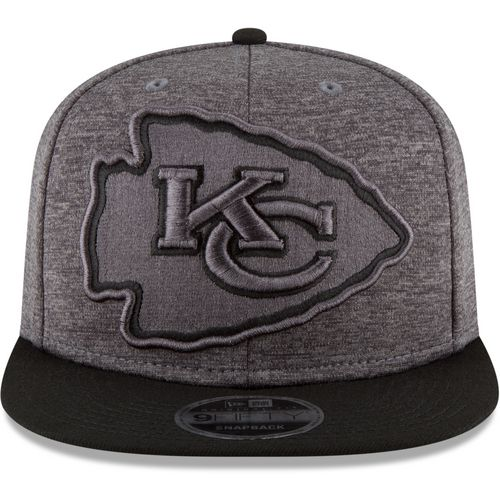 New Era Men's Kansas City Chiefs 9FIFTY Original Fit Heather Huge Snap Cap