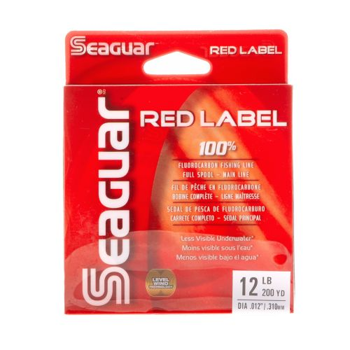 Seaguar® Red Label 12 lb. - 200 yards Fluorocarbon Fishing Line