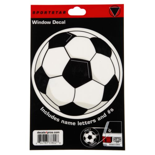 Sportstar Soccer Window Decal - view number 1