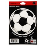 Sportstar Soccer Window Decal