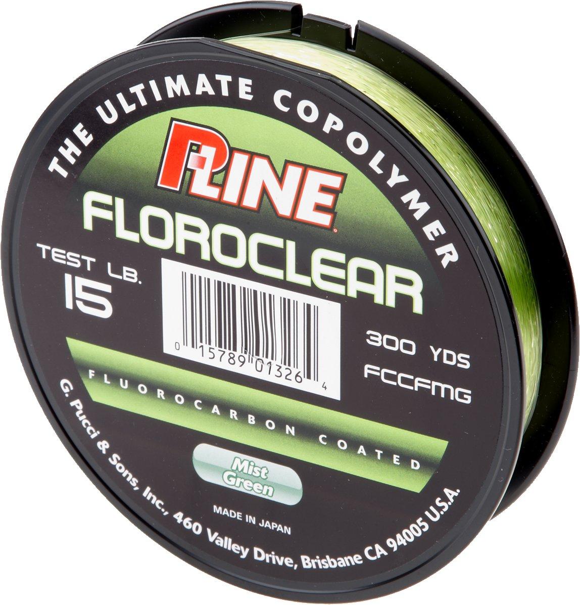 P-Line® Floroclear 15 lb. - 300 yards Fluorocarbon