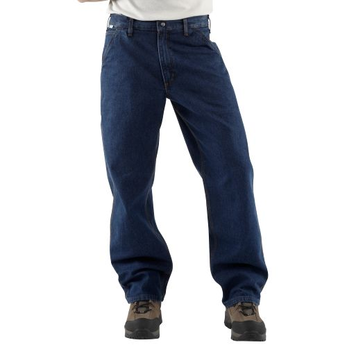 Carhartt FRB13 Men's Flame-Resistant Denim Dungaree