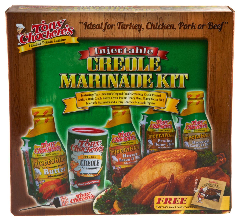 Tony Chachere's Injectable Creole Marinade Kit