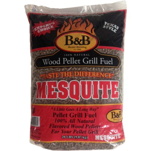 Image for B&B Mesquite 20 lb. Pellet Grill Fuel from Academy