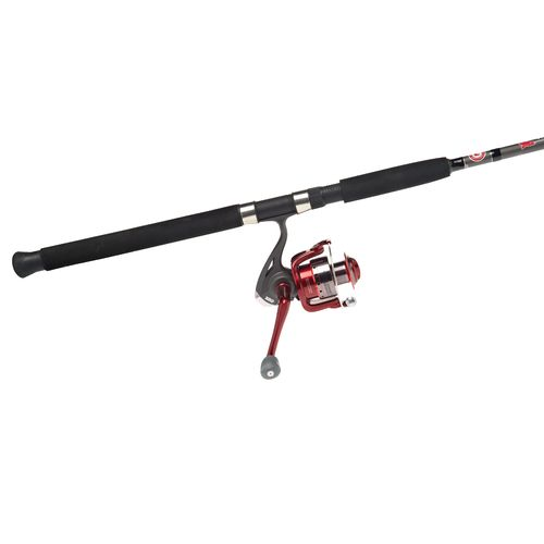 "Zebco CCA 7'2"" M Saltwater Spinning Rod and Reel Combo"