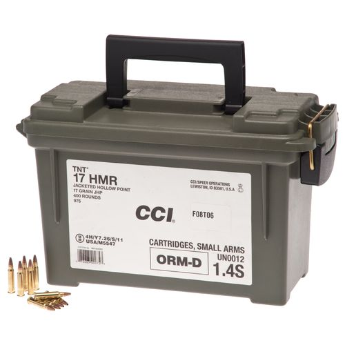 CCI® Plano .17 HMR 17-Grain Rimfire Rifle Ammunition