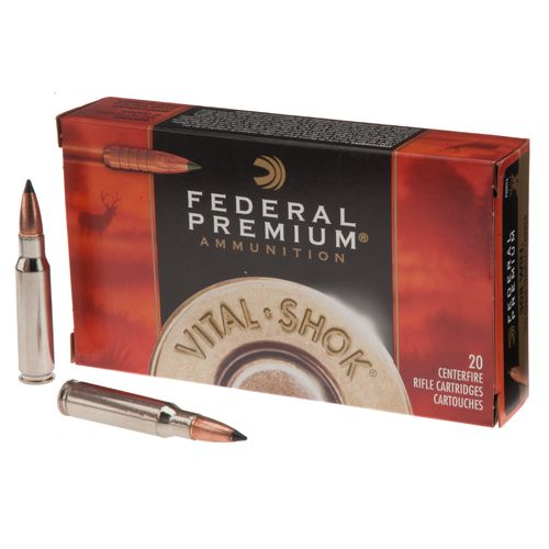 Display product reviews for Federal Premium® Vital-Shok® Trophy Copper™ .308 Win. 150-Grain Centerfire Rifle Ammu