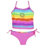 O'rageous® Girls' High Tied X-back Tankini