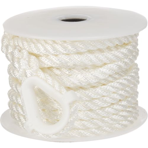 "Marine Raider 3/8"" x 50' Twisted 3-Strand Anchor"