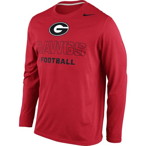 Image for Nike Men's University of Georgia Practice Legend Conference T-shirt from Academy