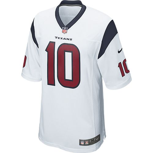 Nike Men's Houston Texans DeAndre Hopkins 10 Game Jersey - view number 3