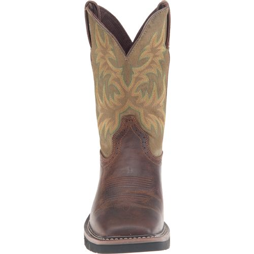 Justin Men's Waxy Cowhide Western Work Boots - view number 3