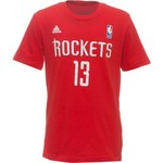 adidas™ Boys' Houston Rockets James Harden #13 Game Time T-shirt