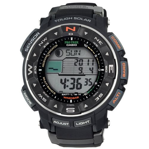 Display product reviews for Casio Men's Pro Trek PRW2500R-1CR Atomic Solar Digital Watch
