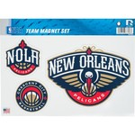 NBA New Orleans Pelicans Magnets Set