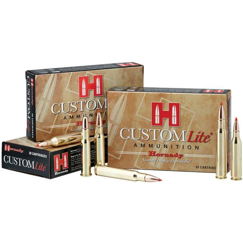 Hornady SST® Custom Lite® .270 Winchester 120-Grain Centerfire Rifle Ammunition - view number 1
