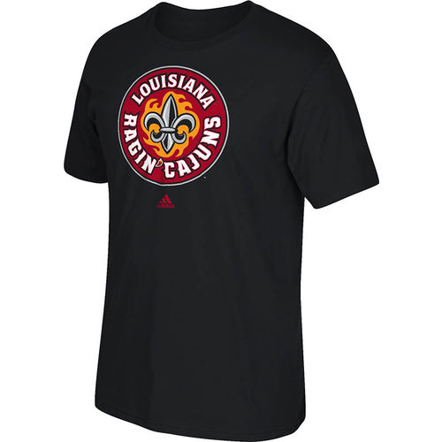 adidas Men's University of Louisiana at Lafayette School Logo T-shirt