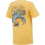Salt Life Men's Blue Crab Short Sleeve T-shirt