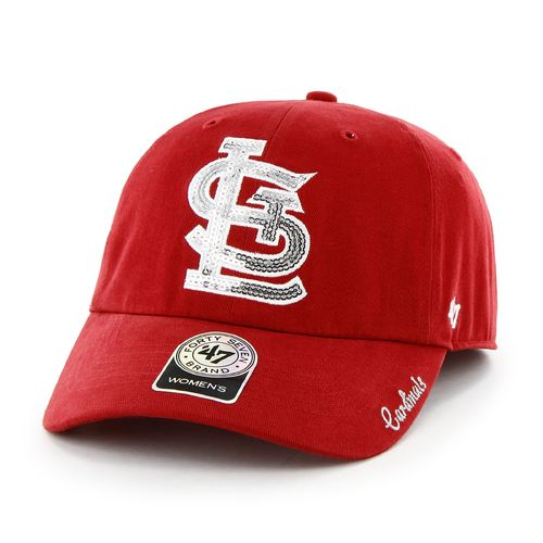 '47 Women's St. Louis Cardinals Sparkle Team Color Clean Up Cap