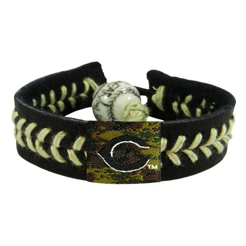 GameWear Adults' Cincinnati Reds Camo Baseball Bracelet