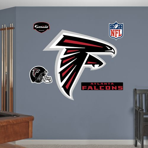 Fathead Atlanta Falcons Logo and Team Decals 5-Pack