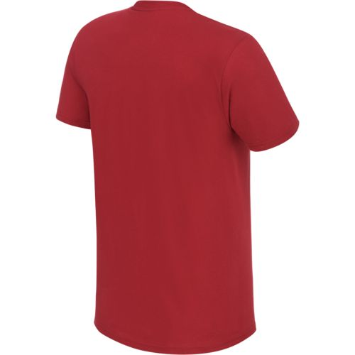 adidas Men's Indiana University School Logo T-shirt - view number 2
