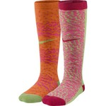 Nike Girls' Graphic Knee-High Socks 2-Pair