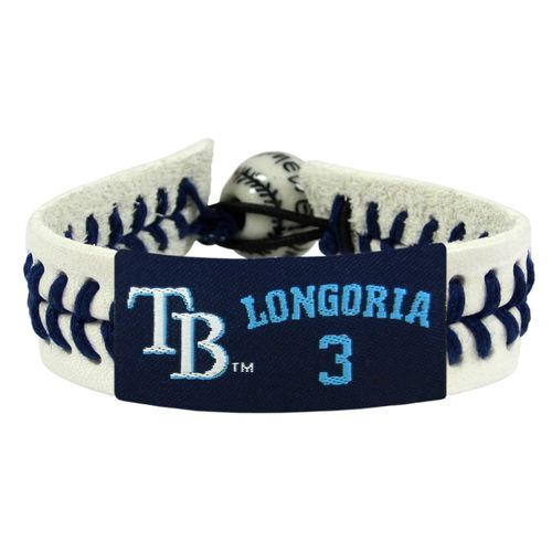 GameWear Tampa Bay Rays Evan Longoria #3 Genuine