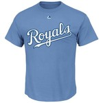 Majestic Men's Kansas City Royals Official Mike Moustakas #8 T-shirt - view number 2