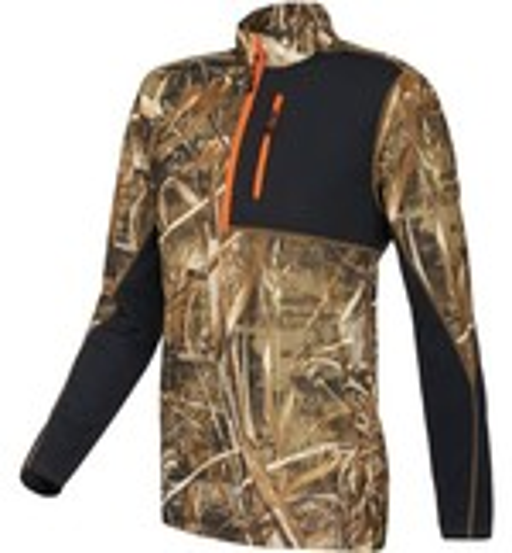 Magellan Outdoors™ Men's Long Sleeve Camo 1/4 Zip Pullover