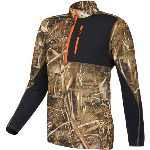 Magellan Outdoors™ Men's Long Sleeve Camo 1/4 Zip Pullover