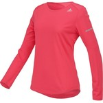 adidas Women's Sequencials Money Long Sleeve Running T-shirt