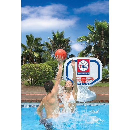 Poolmaster® Philadelphia 76ers Competition Style Poolside Basketball Game - view number 2