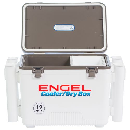 Engel 19 qt. Cooler/Dry Box with Rod Holders - view number 3