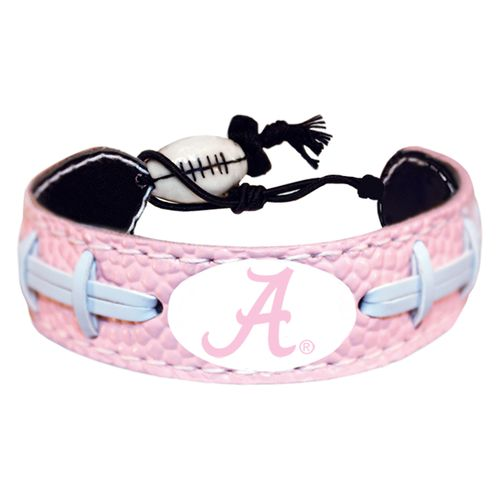GameWear University of Alabama A Logo Classic Football Bracelet