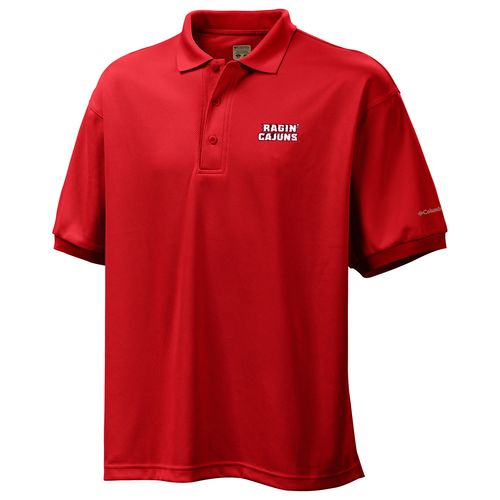 Columbia Sportswear™ Men's University of Louisiana at Lafayette Perfect Cast™ Polo Shi