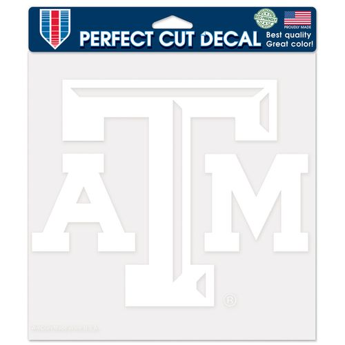 WinCraft Texas A&M University Perfect Cut Decal
