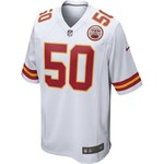 Nike Men's Kansas City Chiefs Justin Houston #50 Replica Away Game Jersey - view number 2