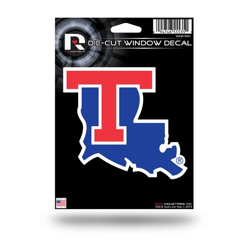 Rico Louisiana Tech University Medium Die-Cut Window Decal