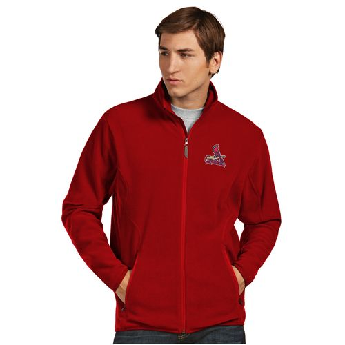 Antigua Men's St. Louis Cardinals Ice Fleece Jacket