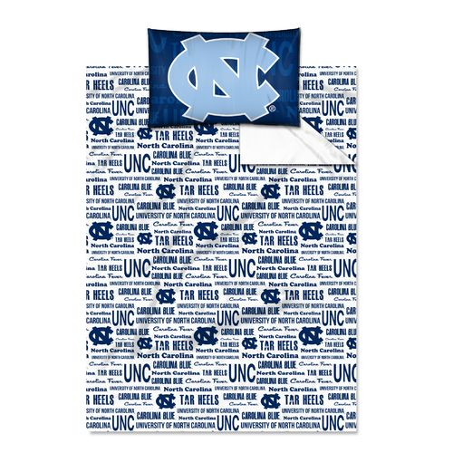 The Northwest Company University of North Carolina Anthem Twin Sheet Set