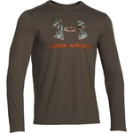 Under Armour® Men's Charged Cotton® Camo Fill Logo Long Sleeve T-shirt