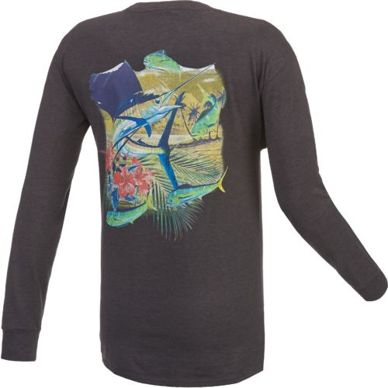 Guy Harvey Men 39 S Antigua Long Sleeve T Shirt Academy