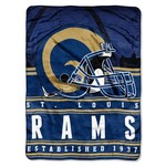 The Northwest Company St. Louis Rams Stacked Silk Touch Throw - view number 1