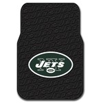 The Northwest Company New York Jets Front Car Floor Mats 2-Pack - view number 1