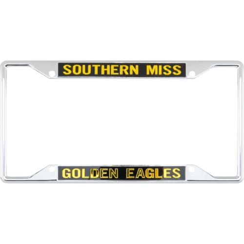 Stockdale University of Southern Mississippi Mirror License Plate Frame - view number 1