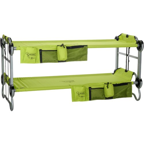 Disc-O-Bed™ Kid-O-Bunk Convertible Cot Bunk Bed